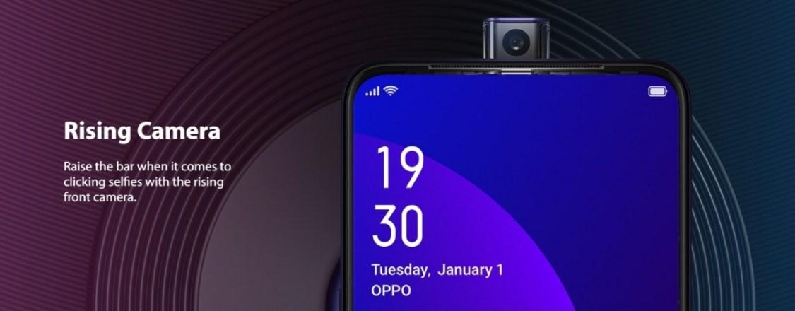 OPPO F11 Pro har en pop up-kamera som håller länge