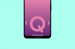 Google: Android Q ser ut att få en ny typ av tillbakanavigering