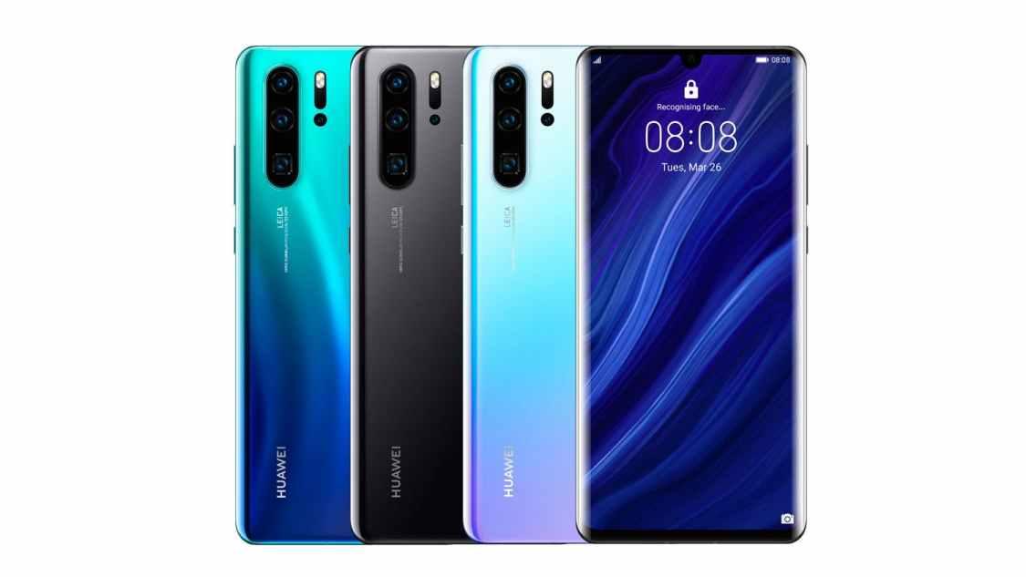 Huawei P30 Pro är ruskigt hal