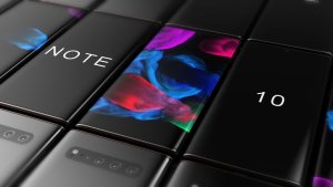 Samsung Galaxy Note 10 dyker upp på ny bild