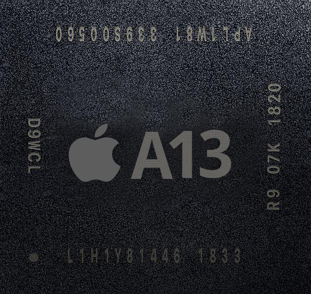 Apple A13 ser ut att bygga på 7nm