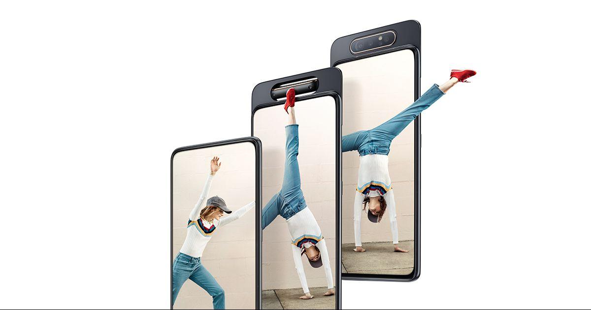 Samsung Galaxy A20, A40, A70 och A80 går rekordbra