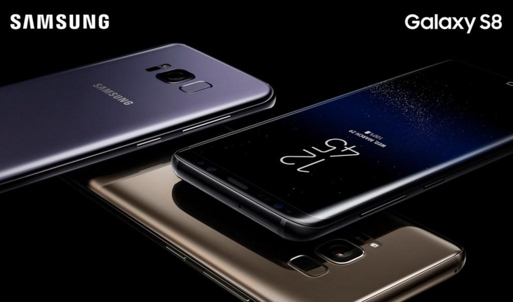 Samsung Galaxy S8 hade den bästa placeringen av fingeravtrycksläsaren