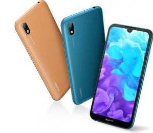 Huawei visar upp Y5 2019