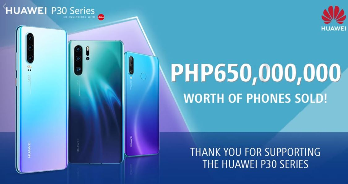 Huawei P30-serien har fått en ruskigt stark start!