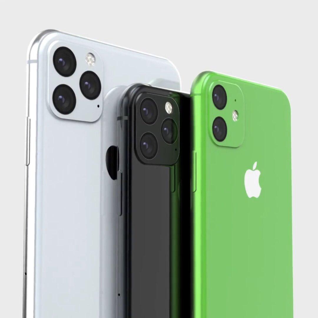 Apple: kommer iPhone XR (2019) se ut så här i grönt?