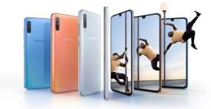 Ny Samsung Galaxy A på ingång