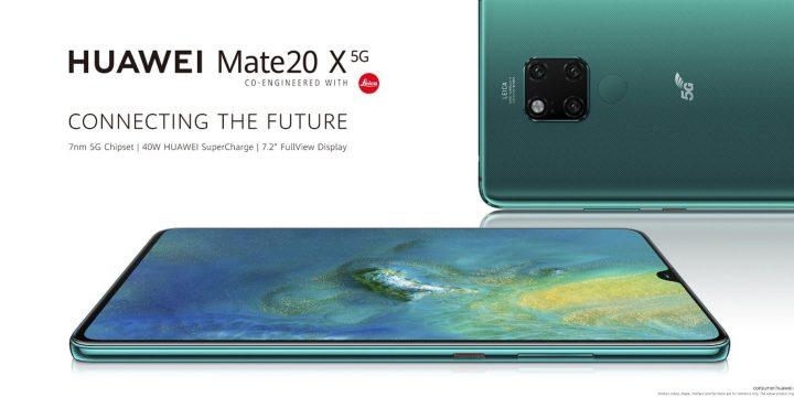 Huawei presenterar Mate 20X med 5G