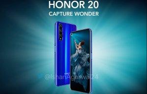 Stor läcka om Honor 20 innan lansering