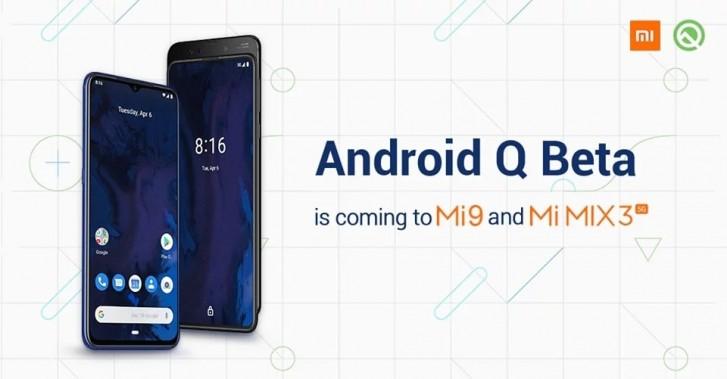 Xiaomi Mi 9 och Mi Mix 3 kommer få betan av Q