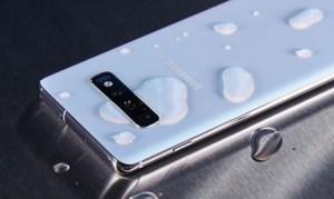 Samsung Galaxy S10+ har fått en ny, passande bakgrund