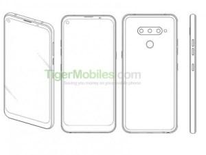 LG tar patent på hål i displayen