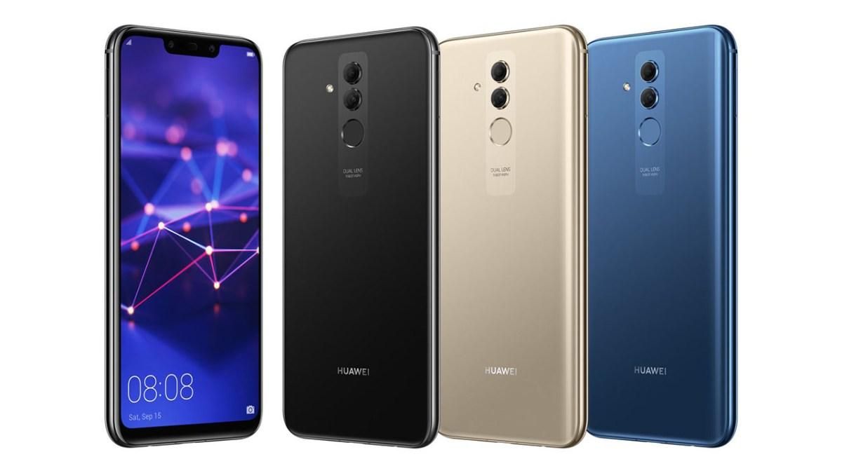 Huawei Mate 20 Lite får EMUI 9 i Europa