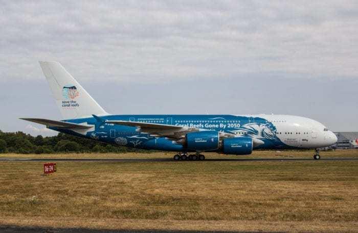 Airbus A380-800 9H-MIP besökte Arlanda igår