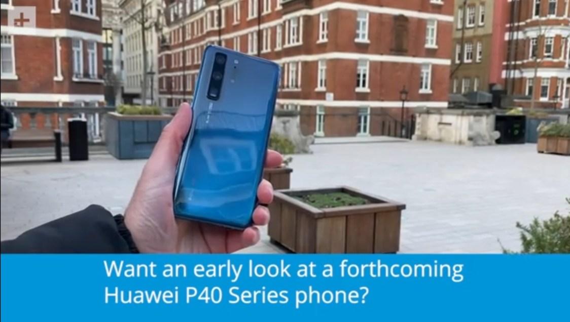 Är det här Huawei P40?