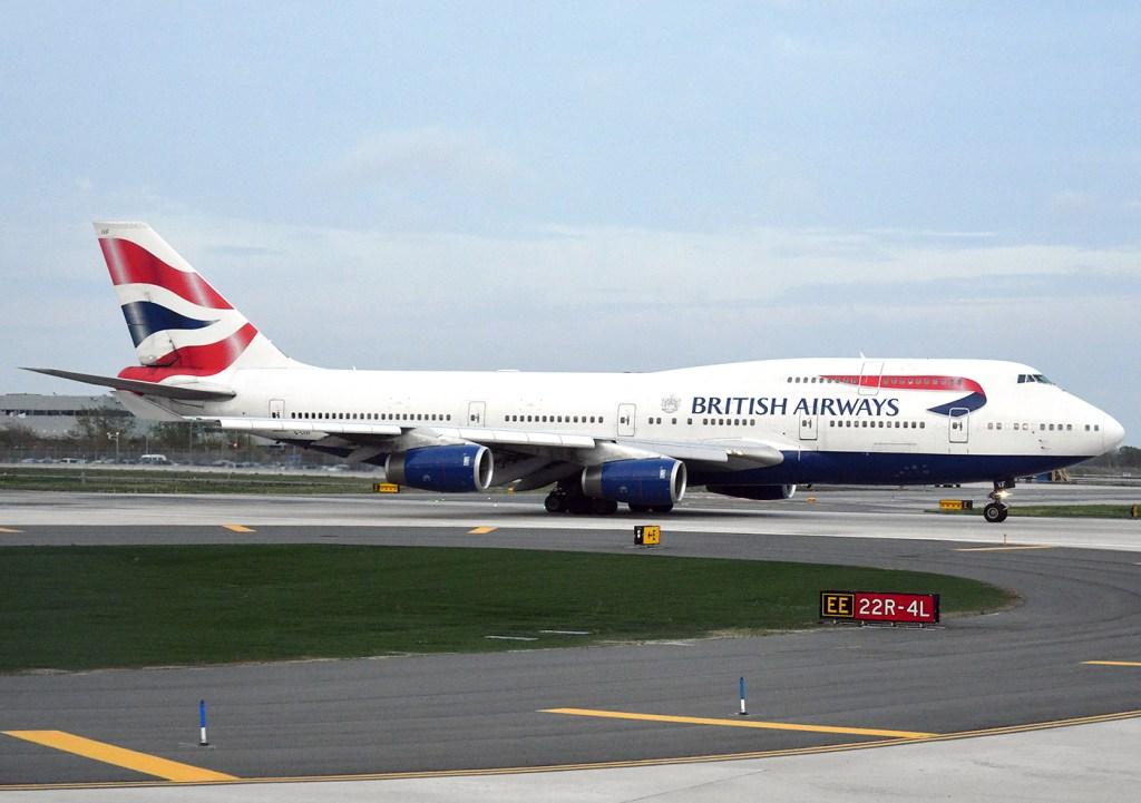 British Airways ställer in alla flighter till Italien till april det här året