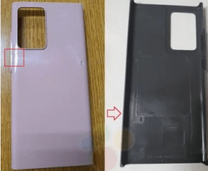Samsung Galaxy Note 20: is this the design for the upcoming model?
