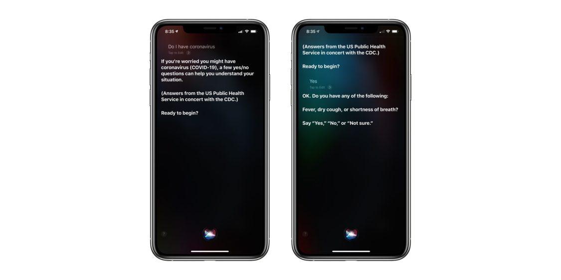 Apple uppdaterar Siri med Coronasvar