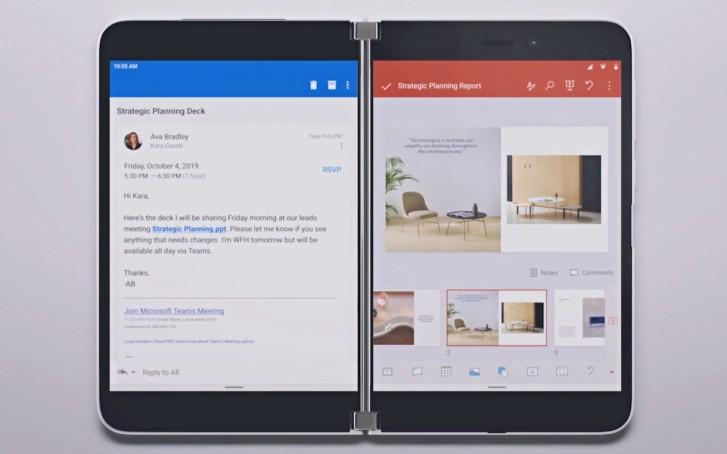 Microsoft meddelar att Surface Duo kommer få en riktigt unik funktion