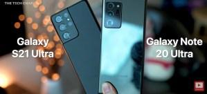 The Tech Chap jämför Samsung Galaxy S21 Ultra mot Note 20 Ultra