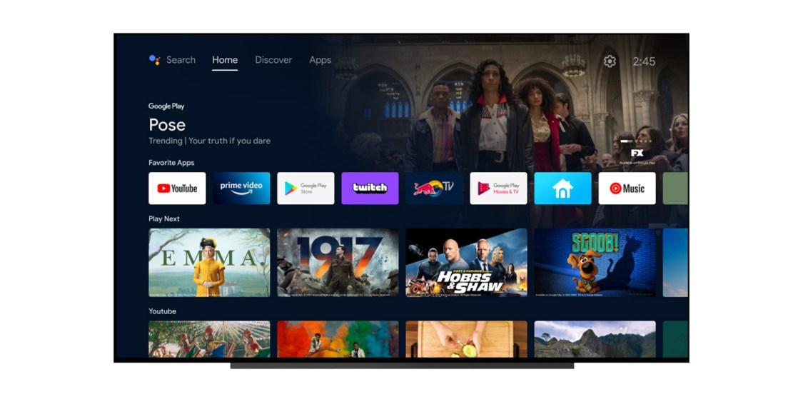 Google uppdaterar Android TV med nytt utseende!