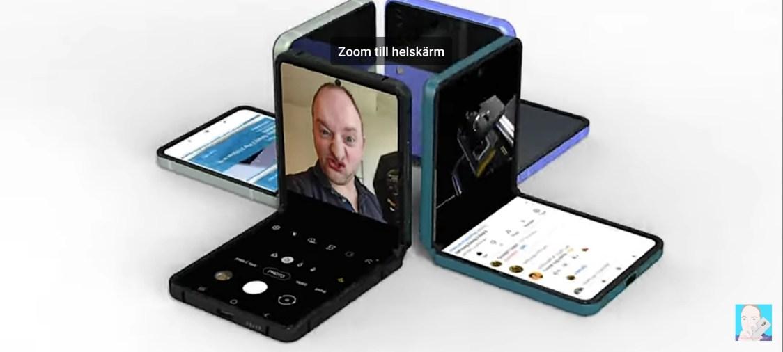 Är det så Samsung Galaxy Z Flip 3 kommer se ut?