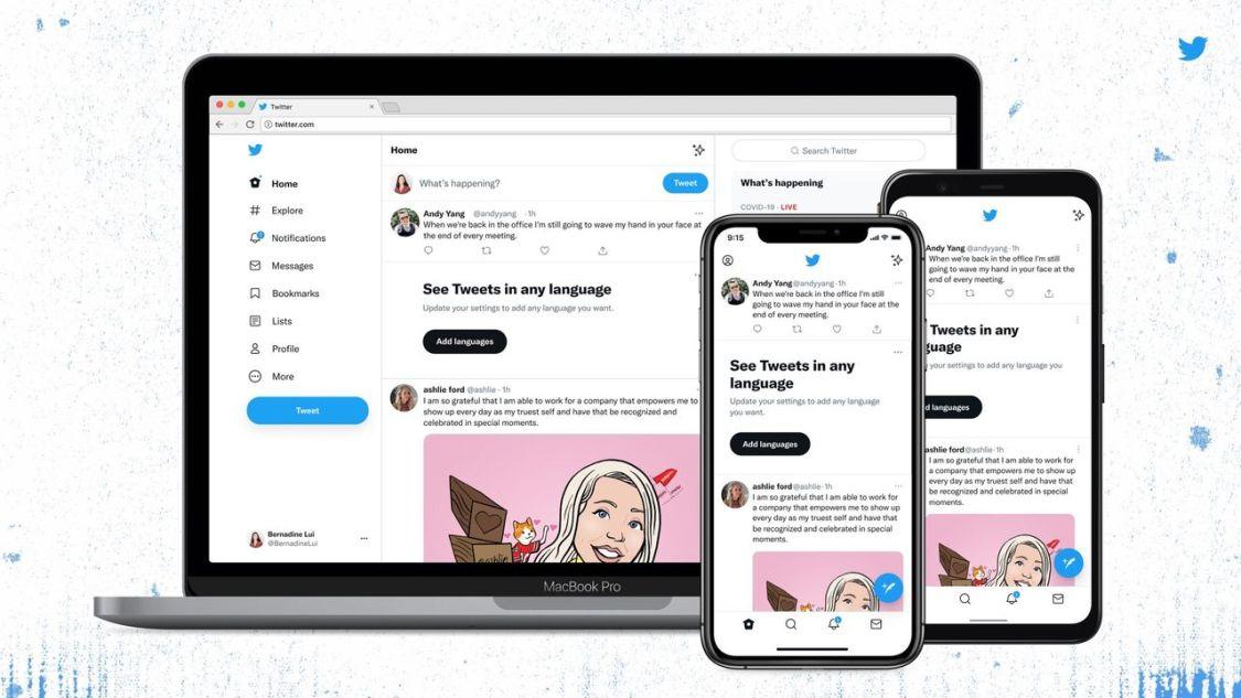 Twitter introducerar ny design