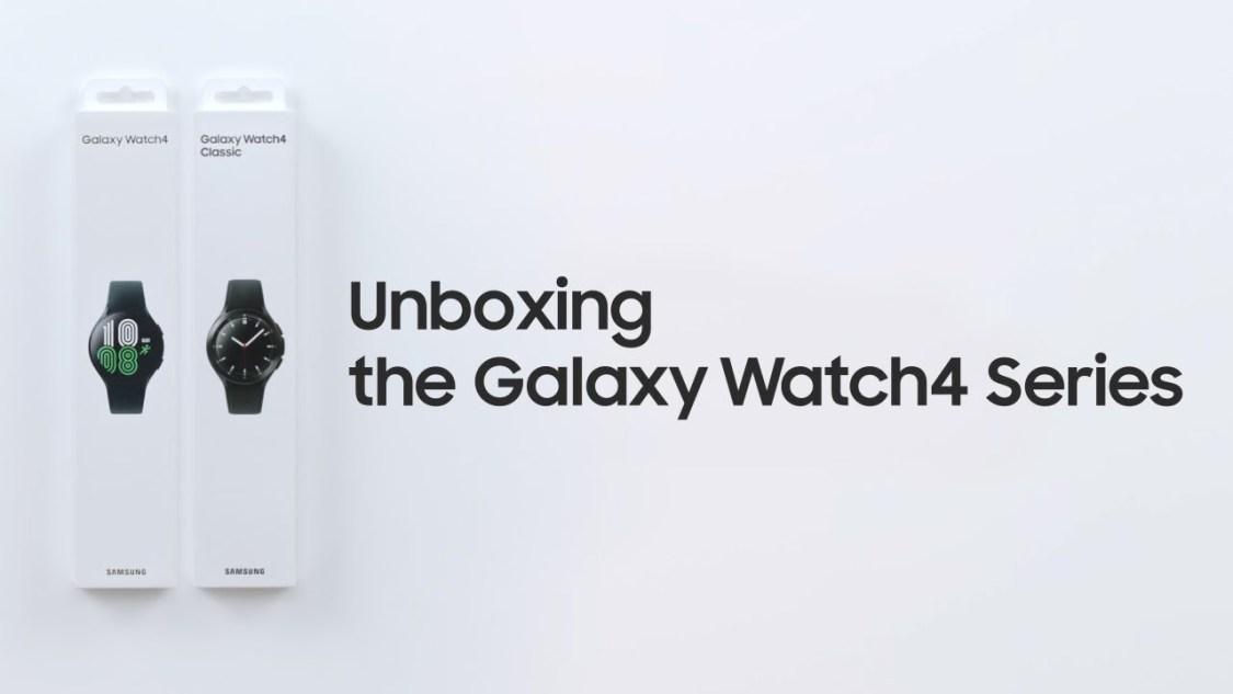 Samsung packar upp Galaxy Watch 4 i ny video