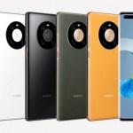 Huawei Mate 50 Pro kan visas upp i oktober