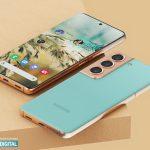Koncept på Samsung Galaxy S22+