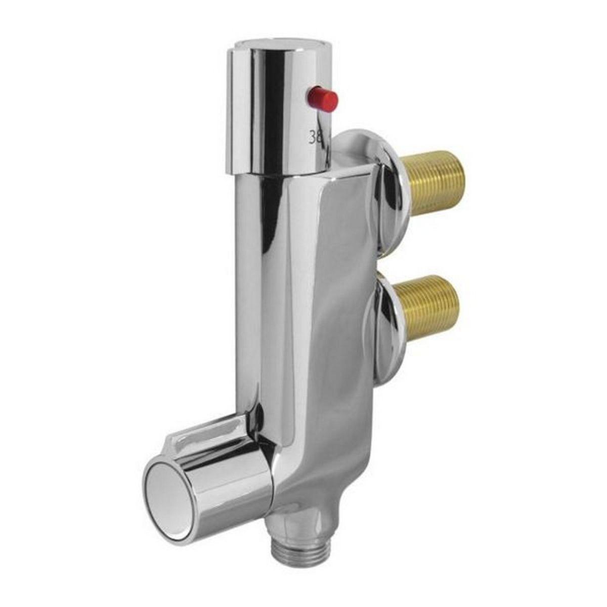 mitigeur thermostatique vertical pour douche