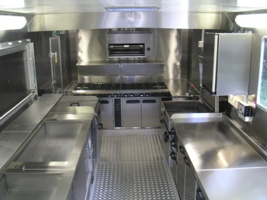 Food Truck Interior Exterior Designs Home Design