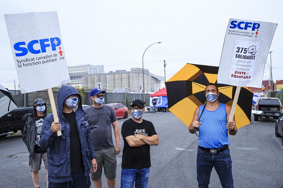 La grève au port de Montréal est déclenchée