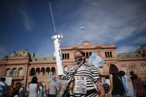 Argentine | Manifestations en réaction au scandale de favoritisme dans les vaccinations