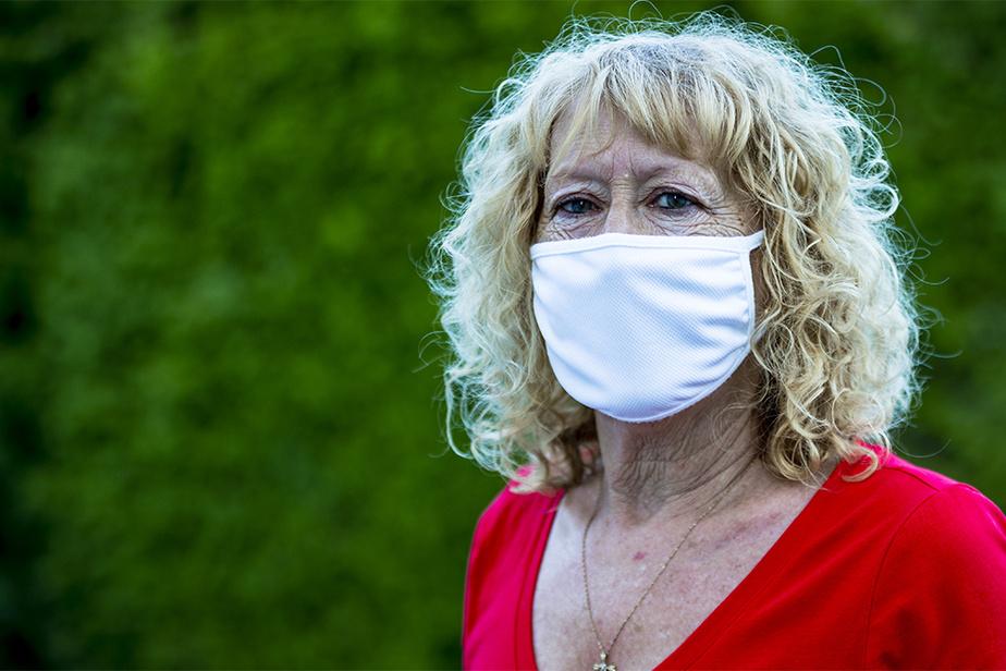 Une femme frappée au visage pour avoir exigé les «deux mètres»