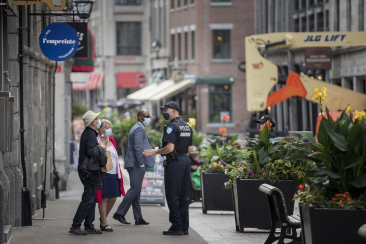 Vieux-Montréal | Un niveau de violence «plus élevé», leSPVM se mobilise