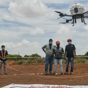 Inde | Premiers essais de livraison par drone  pour atteindre des zones reculées