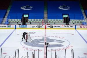 COVID-19 | Le retour à l'entraînement des Canucks  reporté