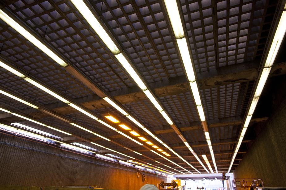 Tunnel Viger: les voies bloquées rouvertes à la circulation
