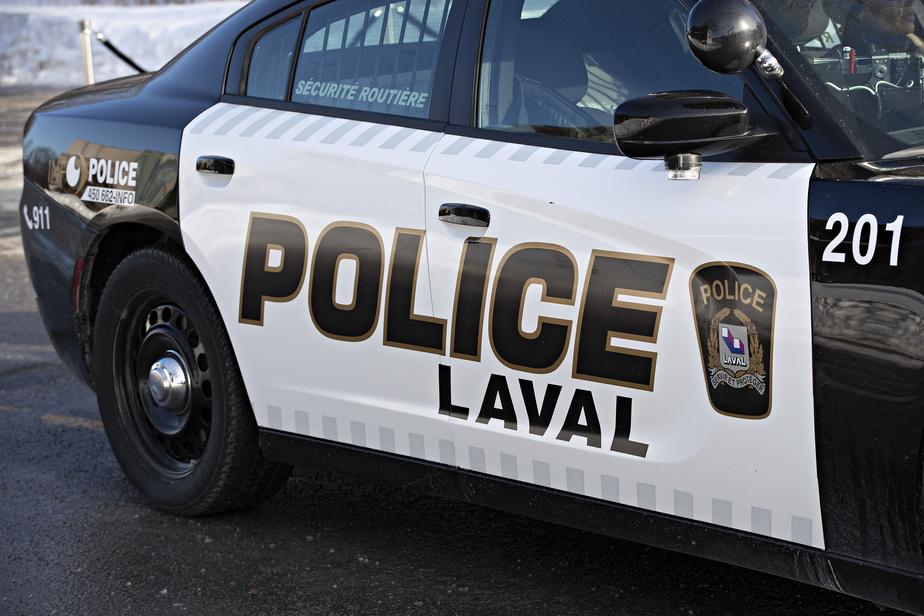Coups de feu sur une maison à Laval