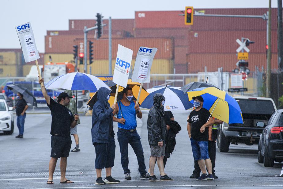 Grève générale illimitée: le port de Montréal risque d'être paralysé