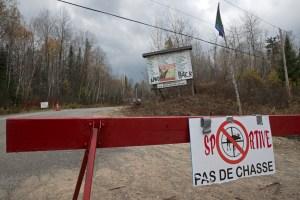 Barrages érigés par des militants algonquins | «On ne veut pas être les méchants»
