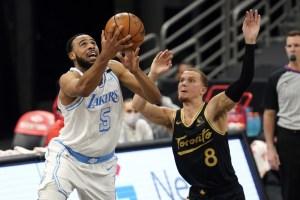 Les Lakers s'imposent sur les Raptors110-101