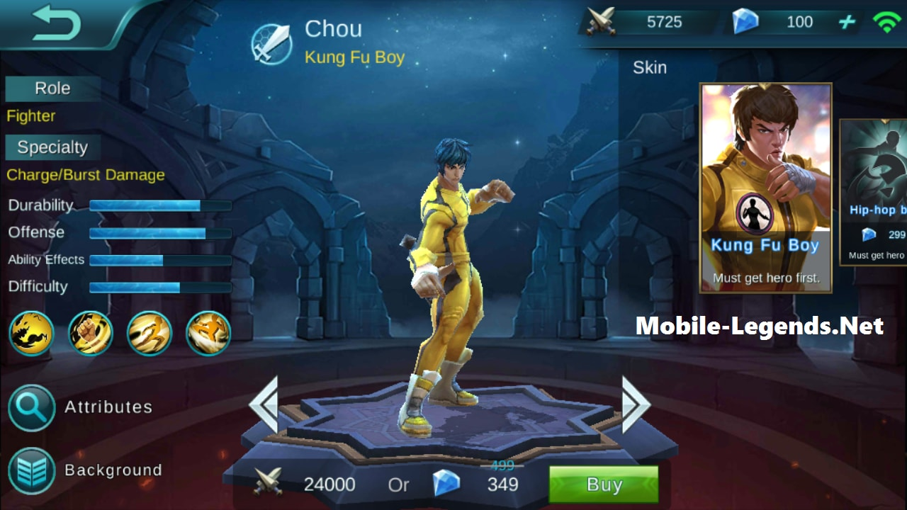 Chou Features 2018 Mobile Legends
