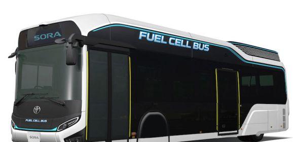 """Toyota präsentiert Brennstoffzellenbus """"Sora"""""""
