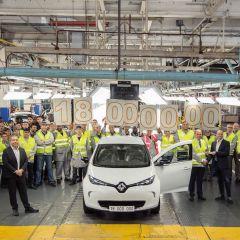 Renault ZOE zum Produktionsjubiläum
