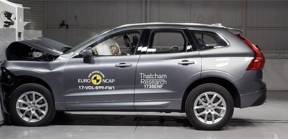 Neuer Volvo XC60 glänzt im Euro NCAP Crashtest