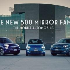 Neue Werbekampagne zu Mirror Sondermodellen von Fiat 500, Fiat 500X und Fiat 500L gestartet – Pressetexte – FCA Germany AG