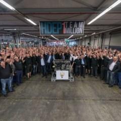 Eine Million Weltmotoren für Daimler Trucks