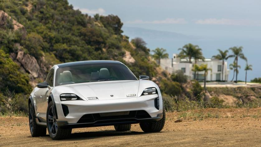 Mission E Cross Turismo, Kalifornien, 2018, Porsche AG